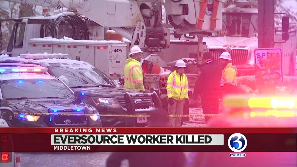 VIDEO: PD: Eversource Subcontractor Killed by Falling Tree