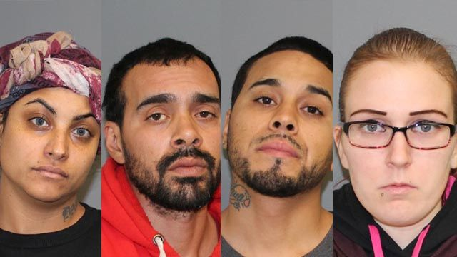 5 arrested for pulling knife on Walmart employees during shoplifting incident