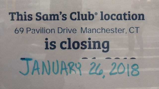 Sam's Club says it's closing stores across the country, including 2 in CT