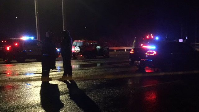 Suspects at large after pursuit, gunfire through multiple towns on Saturday