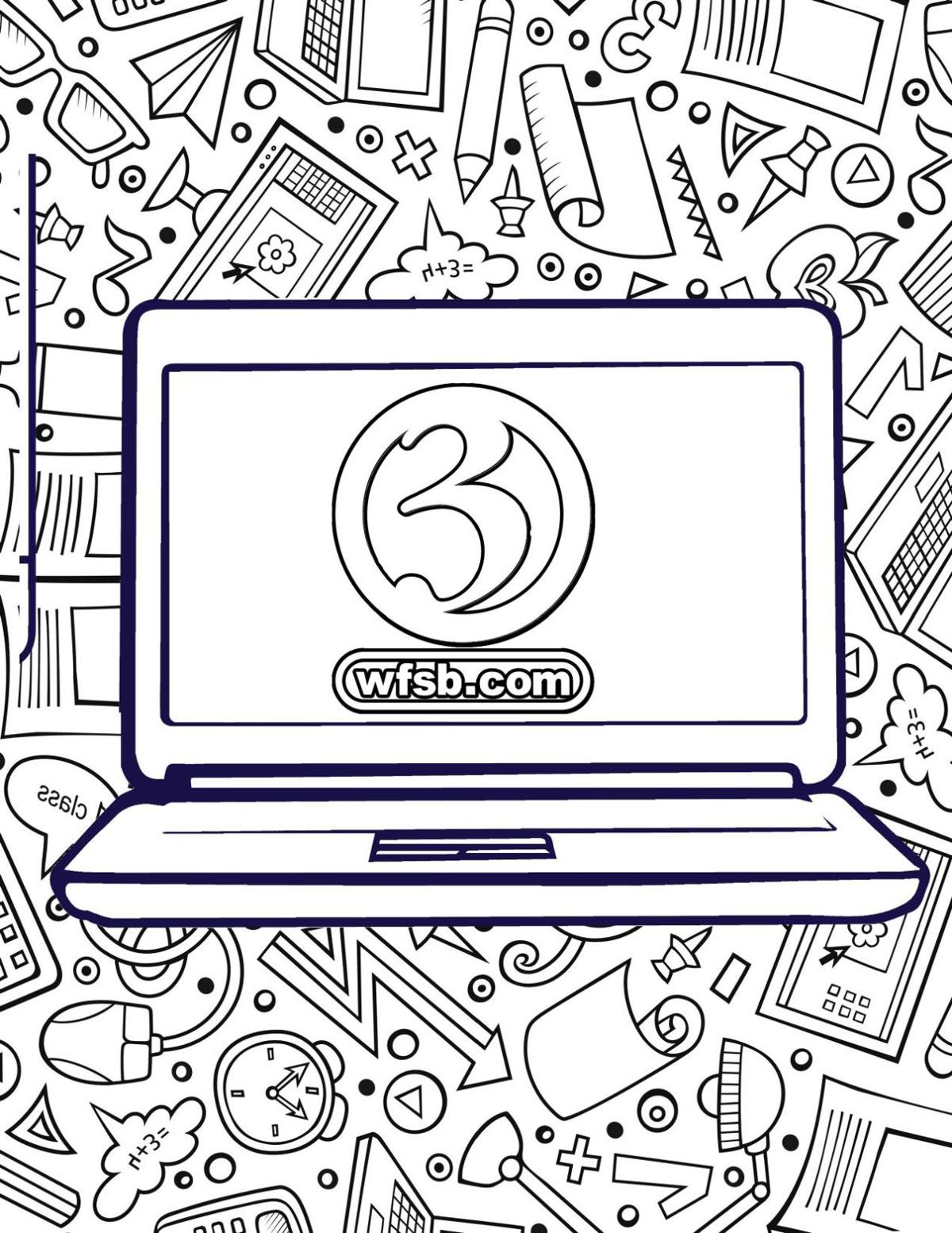 WFSB.com Coloring Page