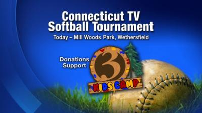 Channel 3 News plays in annual charity softball game | News | wfsb com