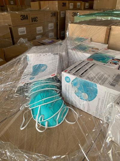 Customs officials have seized over 20 million counterfeit masks since the beginning of the year