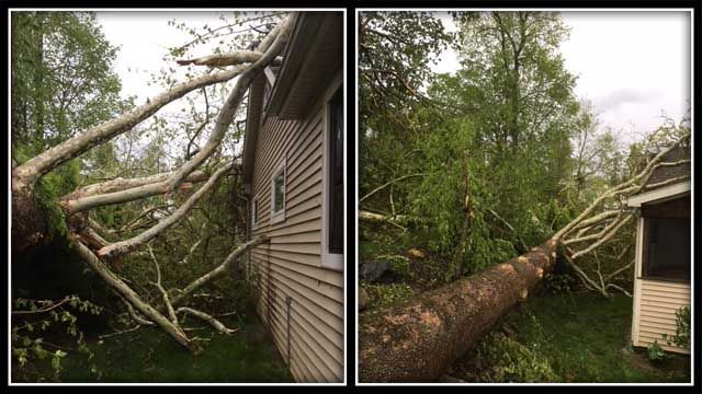 One killed in severe storm, Brookfield declared a 'disaster'