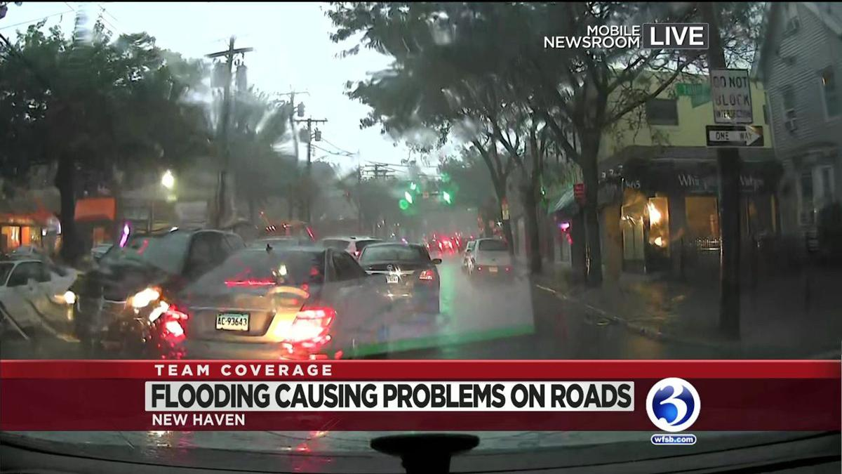 VIDEO: Heavy rains produce flooding throughout the state