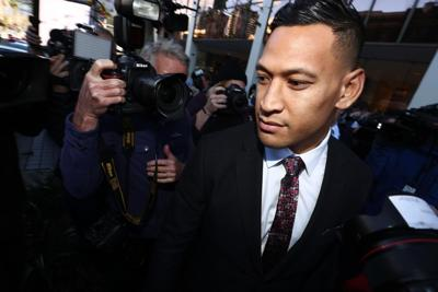 Israel Folau feels 'vindicated' after Rugby Australia apology