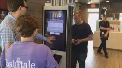McDonald's in Norwich launches self-order kiosks