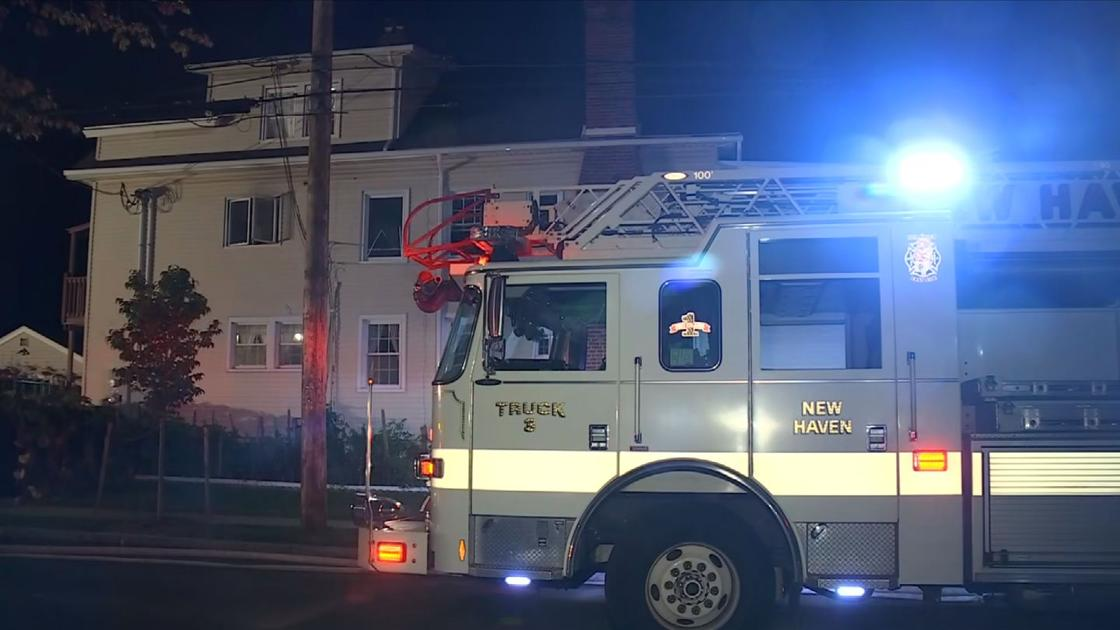 Firefighters respond to early morning house fire in New Haven
