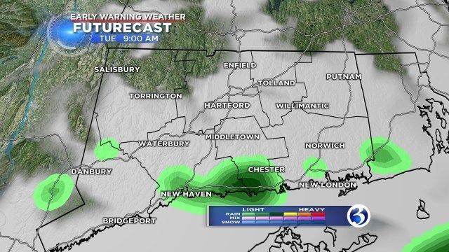 Warmer temps, then wintry weather on Thursday