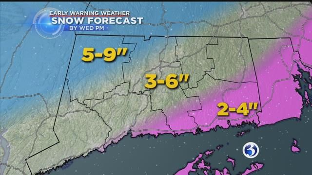 Snow becomes more widespread overnight