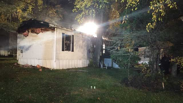 One person killed in East Windsor mobile home fire