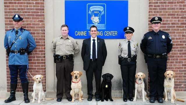 K9 graduation held at CT State Police Training Academy