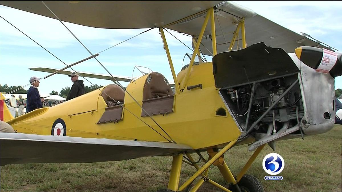 VIDEO: SImsbury Fly-In and Car Show attracts people of all ages