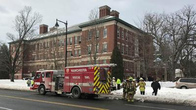 More than 20 displaced after fire at elderly housing complex in Manchester