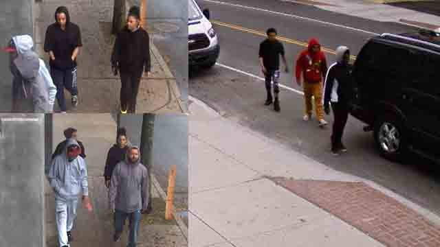Police look to identify suspects in New Britain car thefts
