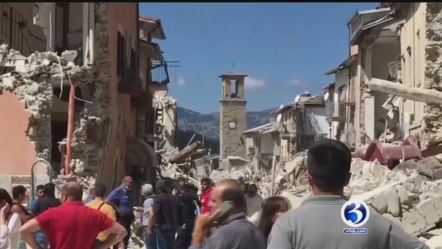 Earthquake in Italy triggers worries over travel plans