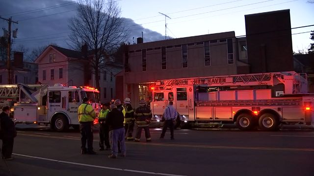 Fire breaks out in New Haven Fire Station kitchen on Friday