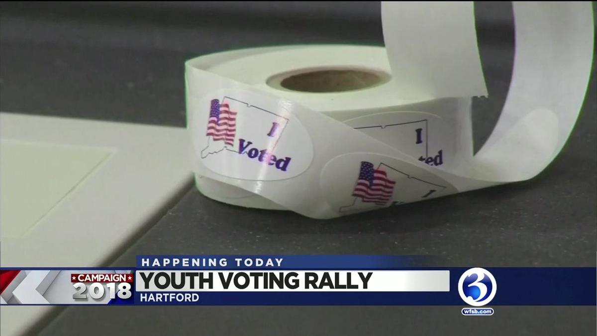 VIDEO: Rally aims to engage young voters