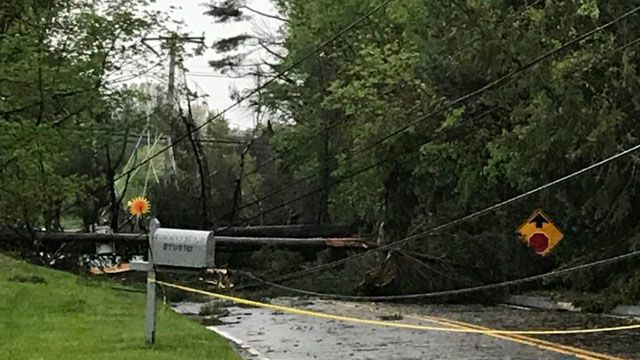 Majority of Southbury remains without power after tornado