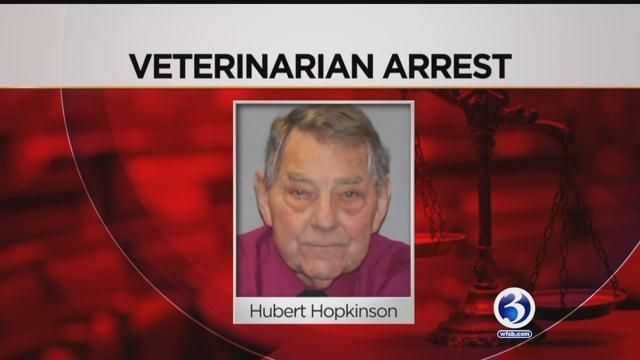 CT veterinarian accused of inappropriately touching an employee