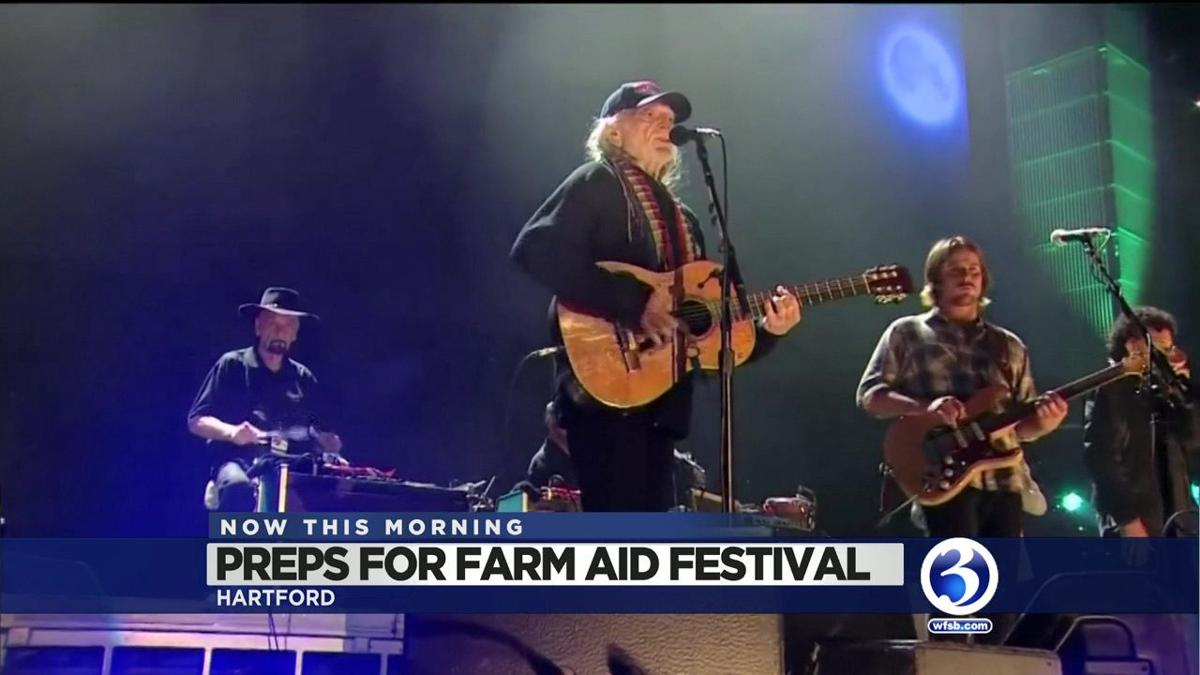 Thousands expected at Farm Aid Festival in Hartford