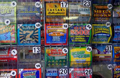 A lottery player went to 40 stores and finally scored a $5 million winning scratch-off