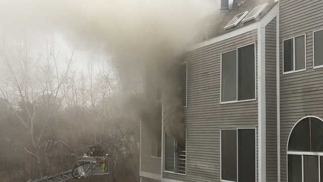 Officials: 16 units at New Haven condo complex destroyed by fire