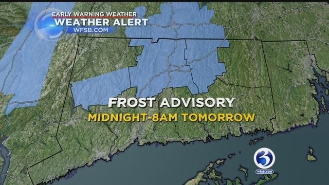 Protect those plants! Frost advisory issued