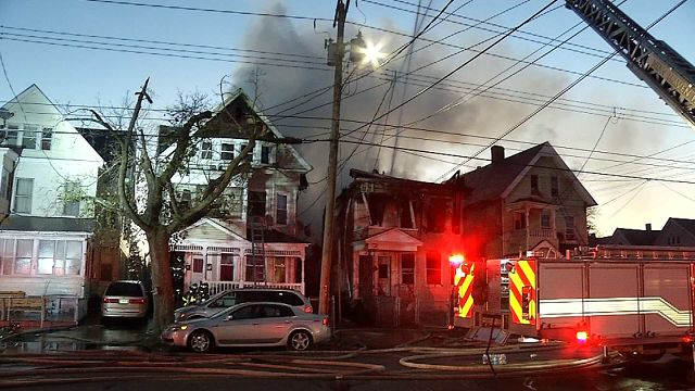 Over six families displaced in New Haven house fire
