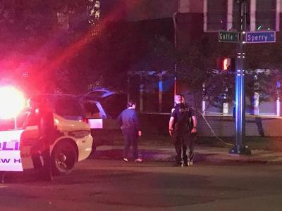 New Haven double stabbing and shooting
