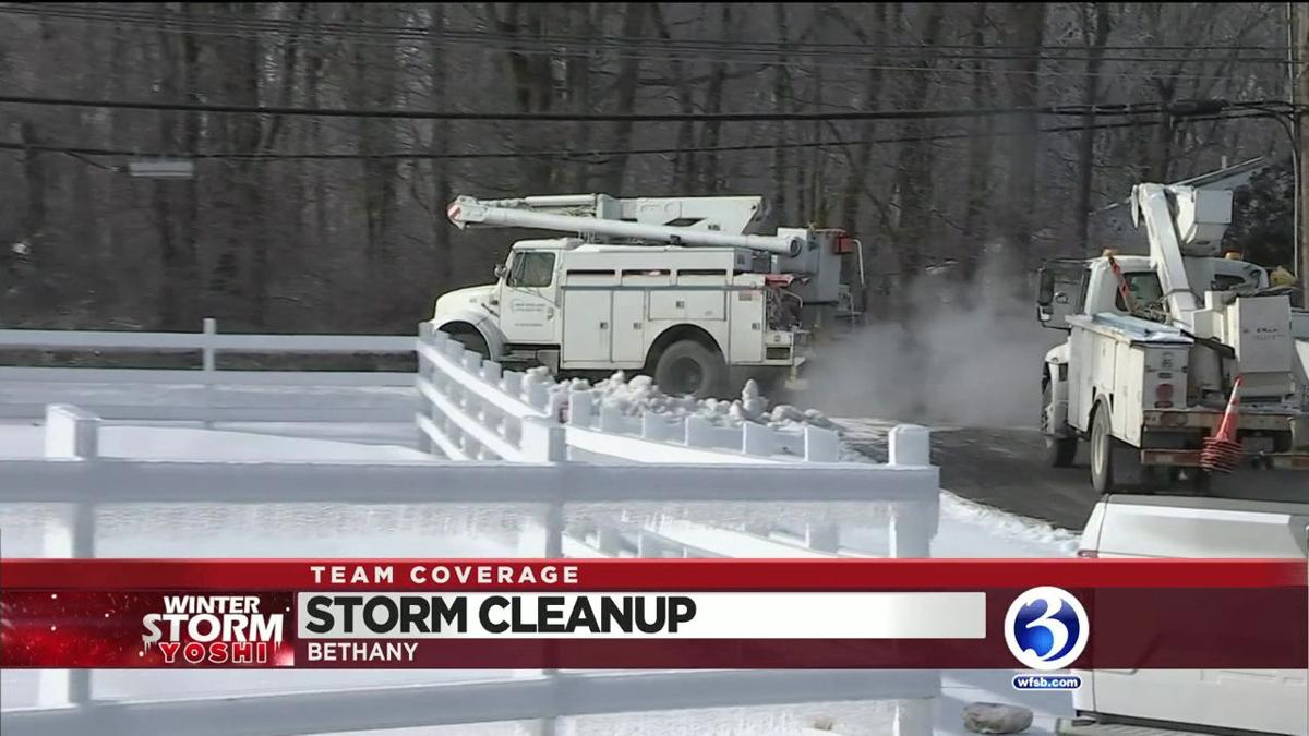 VIDEO: Hundreds of customers remain without power in Bethany