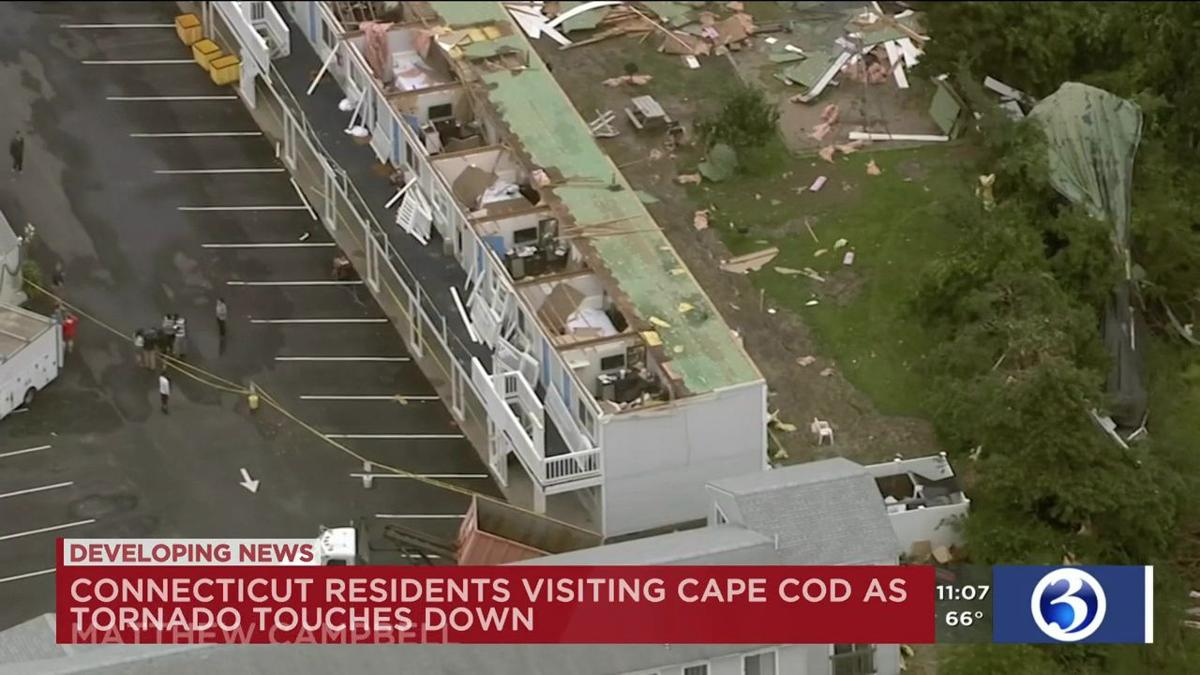 Video: Connecticut residents describe moments before and after Cape Cod  tornado