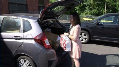 Support the Girls donates bras to Salvation Army in Hartford