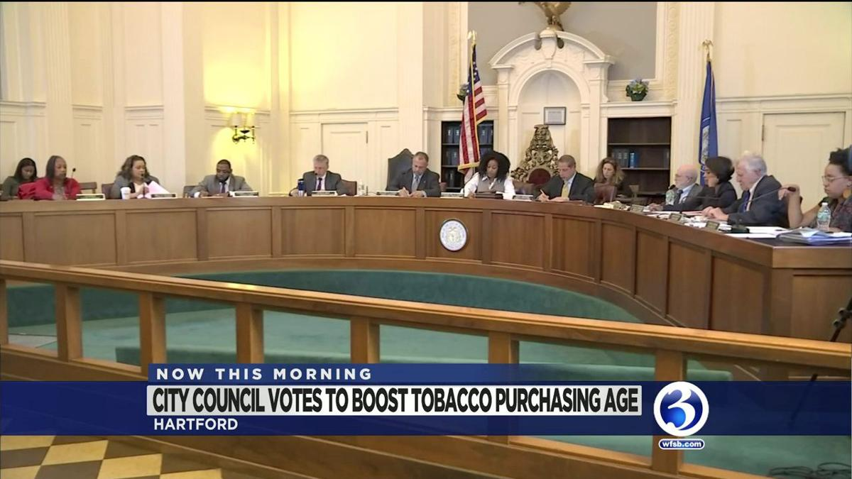 VIDEO: Hartford City Council approves raise of tobacco age