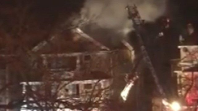Waterbury 3 family home damaged by fire
