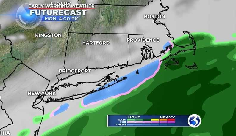 Snow possible for southeastern CT, unsettled weather upcoming