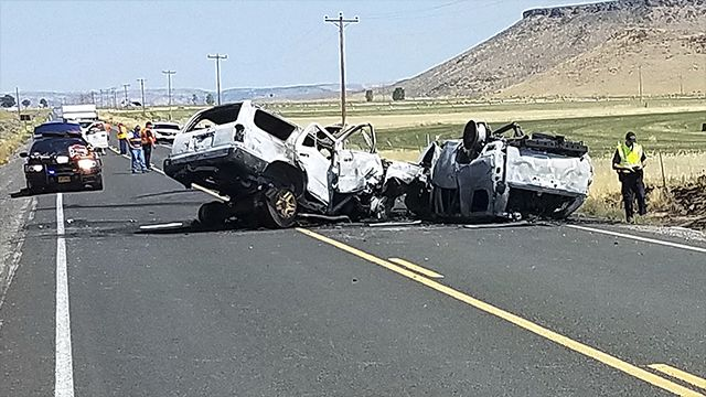 Family of 7 on vacation died in Oregon collision, relative says