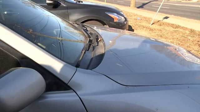 Take precautions to prevent your windshield from shattering in bitter cold