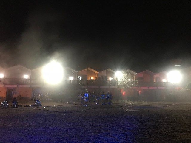 54 displaced, six sent to hospital after Newington motel fire