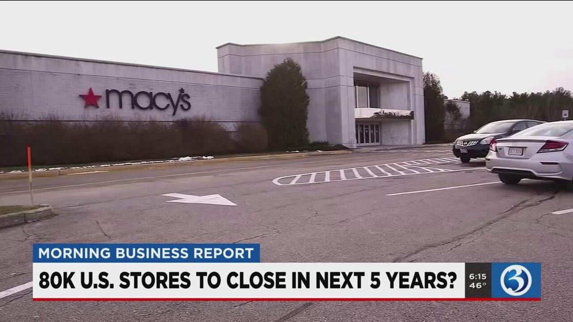 MORNING BUSINESS REPORT: The Hartford possible counteroffer, more store closures, surprising internet statistics