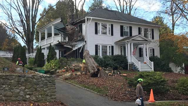 Thousands remain without power after storm leaves lots of damage