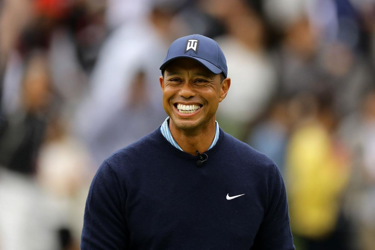 Tiger Woods says his kids don't talk about his Masters win