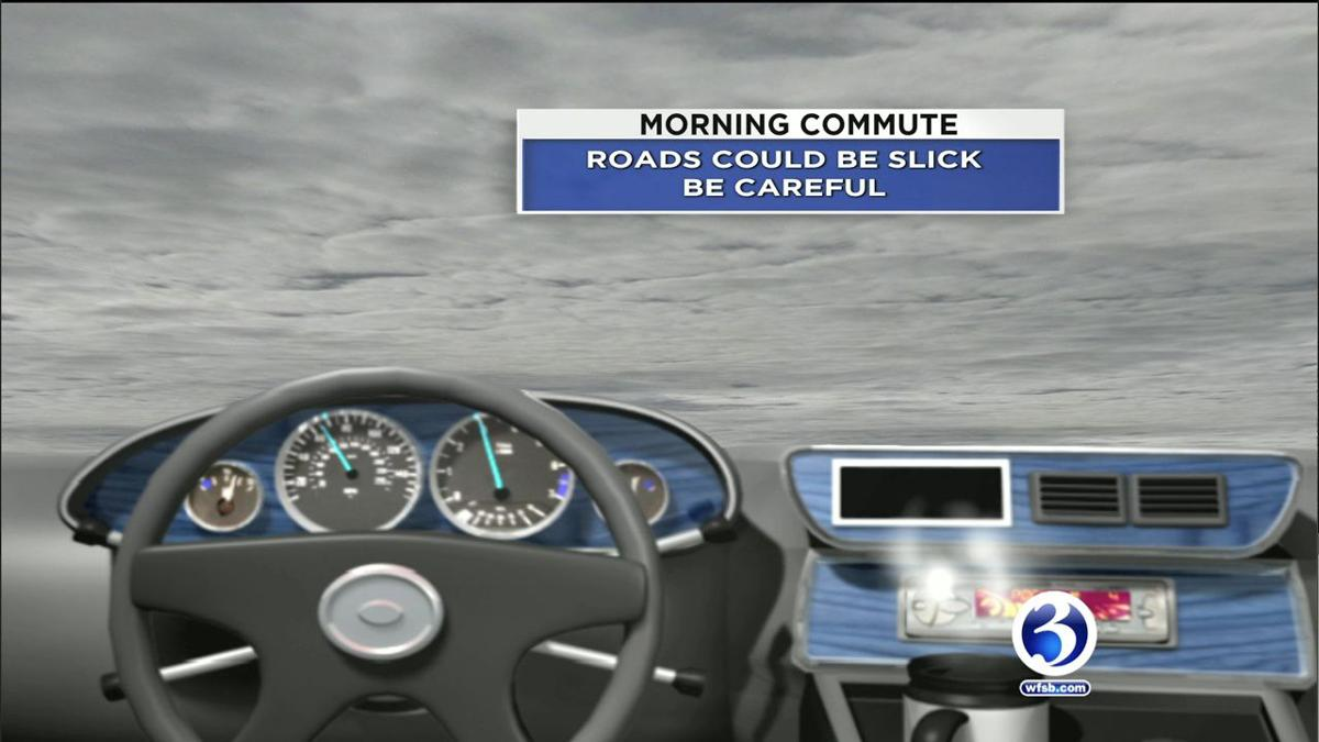 FORECAST: Slick Monday morning commute, chilly Tuesday