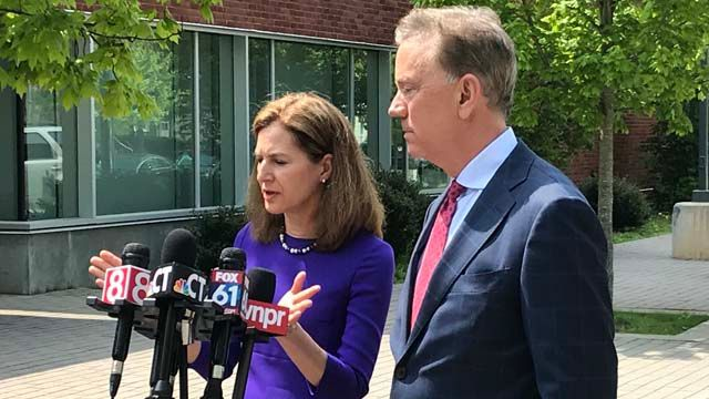Lamont officially announces Bysiewicz as running mate