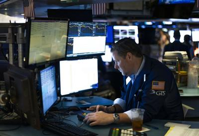 Dow drops more than 550 points as inflation concerns rattle investors