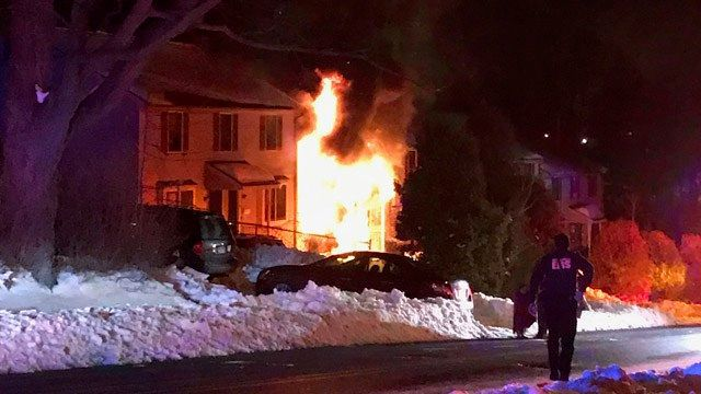 Firefighters rescue 9 people, including children from apartment fire