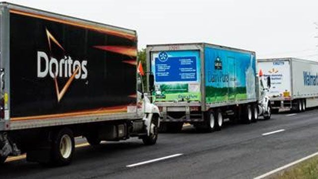 Convoy of Caring hits the road to curb hunger