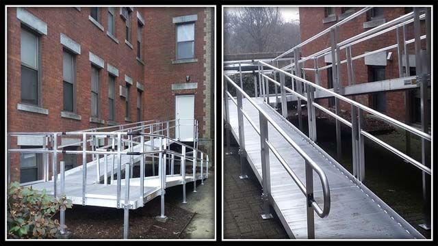 Hartford apartment building constructs wheelchair ramp after mother's plea