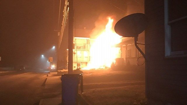 Fire destroys multi-family home in Griswold