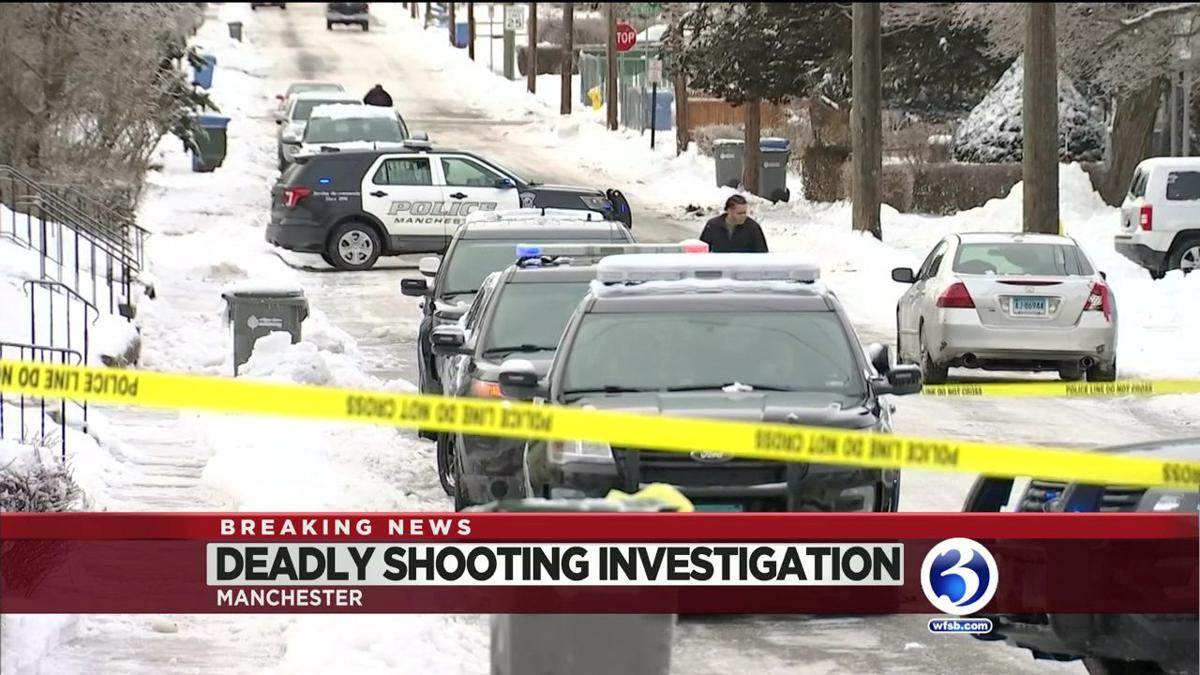 VIDEO: Man killed during Manchester shooting